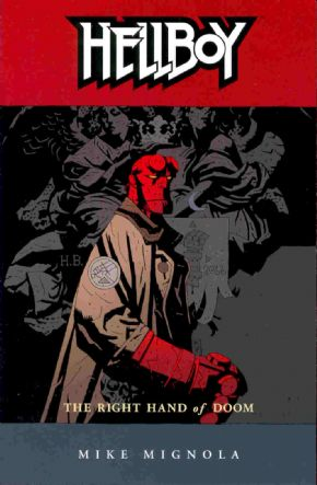 Hellboy Right Hand Of Doom Graphic Novel Trade Paperback Mike Mignola Dark Horse Comics